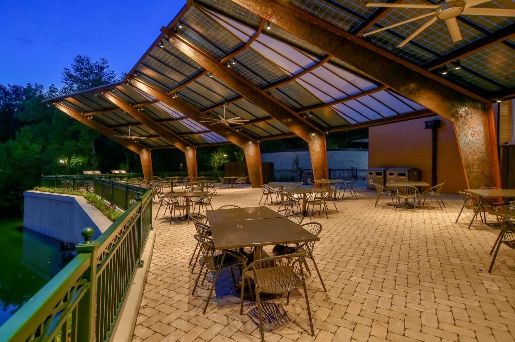 Saint Louis Zoo solar canopy 1